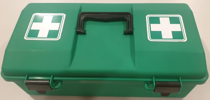 Tacklebox green - First Aid Kit
