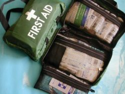 National Compliant First Aid Kit – Soft Pack Small Green