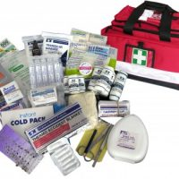 National Compliant First Aid Kit – Soft Pack 12 Red Bag