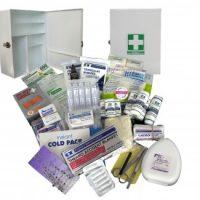 First Aid Kit Small – Metal Wallmount