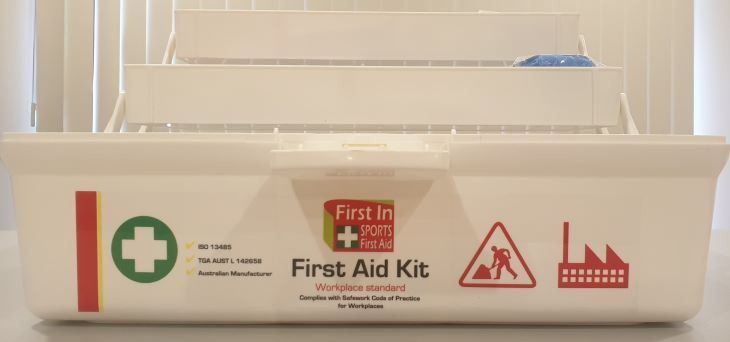 First Aid Kit – Tacklebox cantilever
